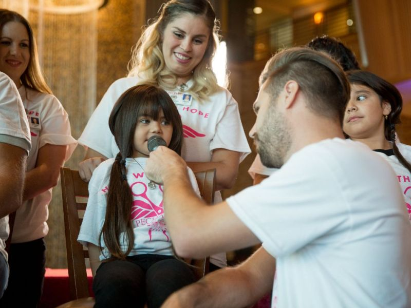 30 Volunteers Young And Old Chop Off Hair In Temecula To Help
