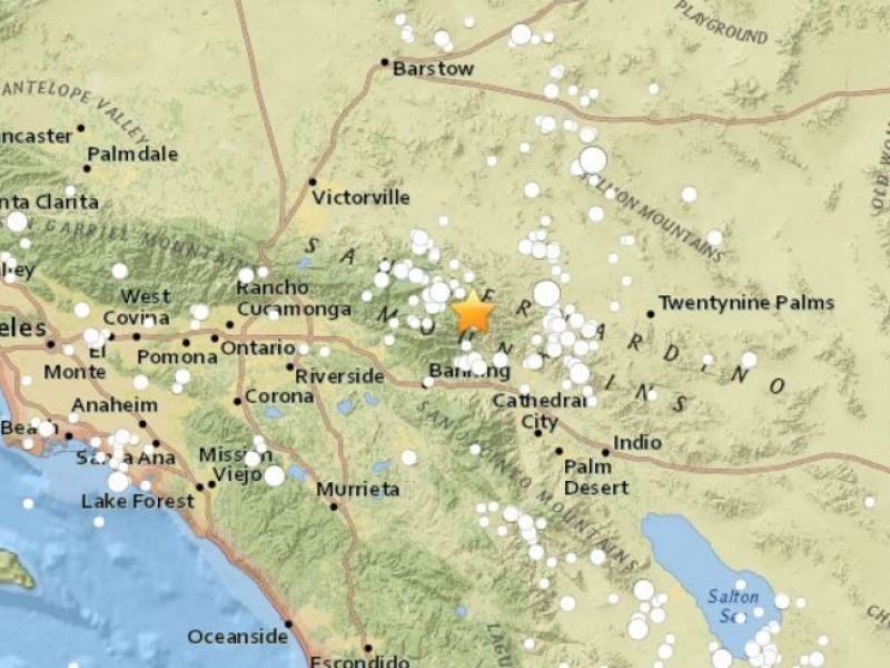 Earthquakes Shake Near The Coachella Valley Did You Feel
