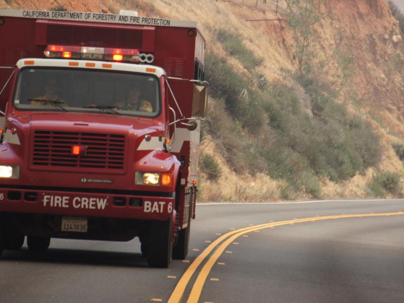CA Fire Summary 5000 Firefighters Battling 14
