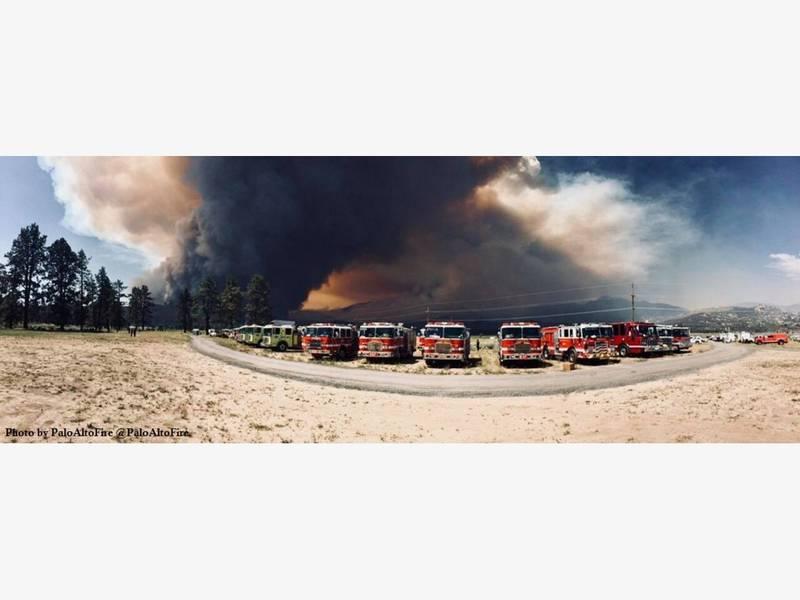 Cranston Fire Day 3: 11,500 Acres, Containment Decreases, Map
