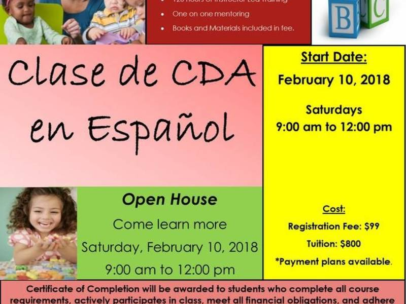 earning your cda credential has never been easier! | newark, nj patch