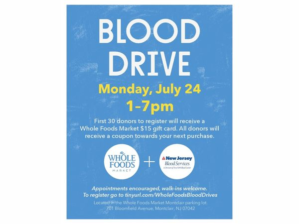 New Jersey Donate Blood