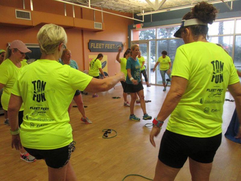 Ton Of Fun Unitedhealthcare Fleet Feet Sarasota Help Residents
