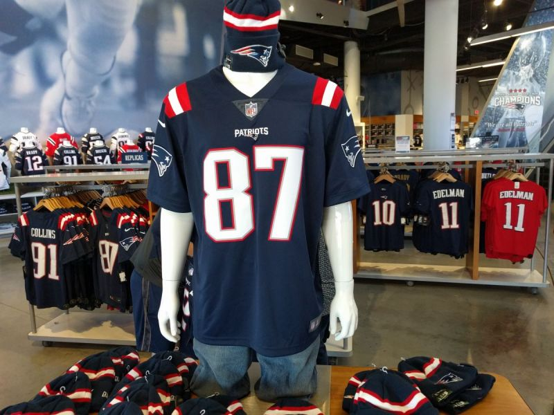 patriots rush jerseys