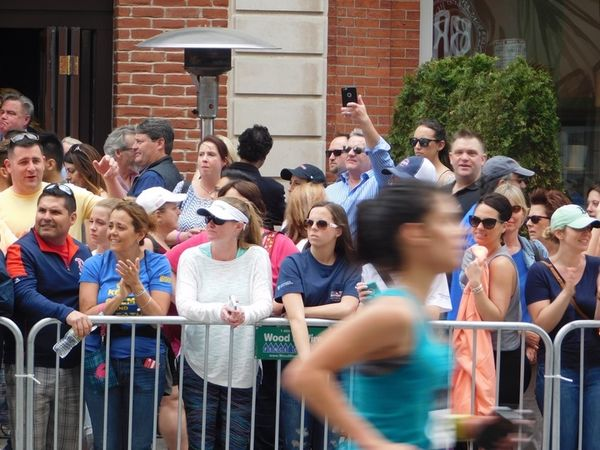 First woman to run Boston Marathon completes race again 50 years later