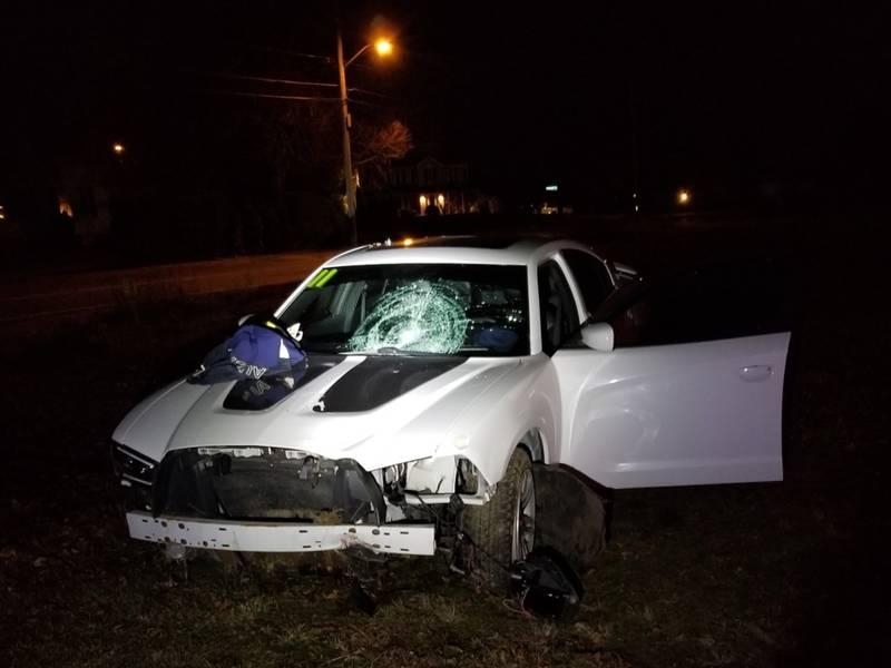 crash car brockton teen