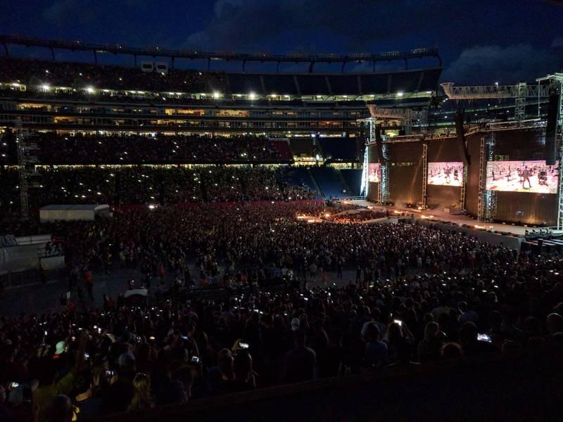 2018 Gillette Stadium Concert Guide