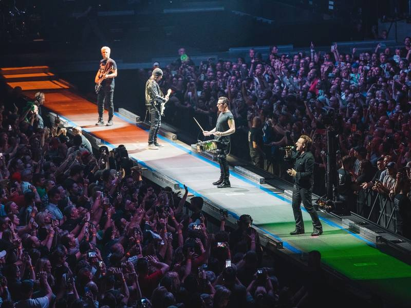 Concert Review: U2 Goes Extravagant At TD Garden Show