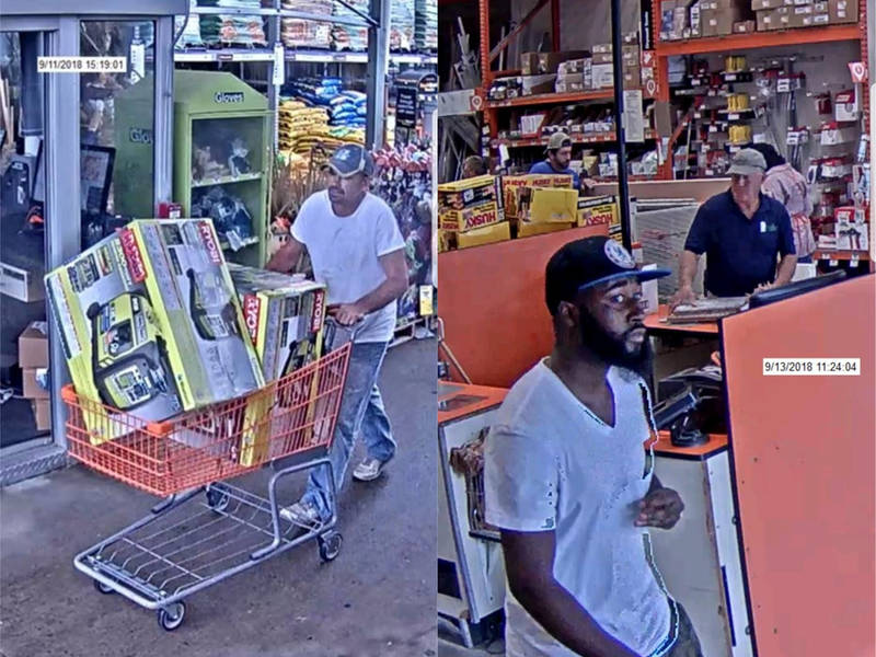 Two Wanted For Theft At Norwood Home Depot Norwood MA Patch