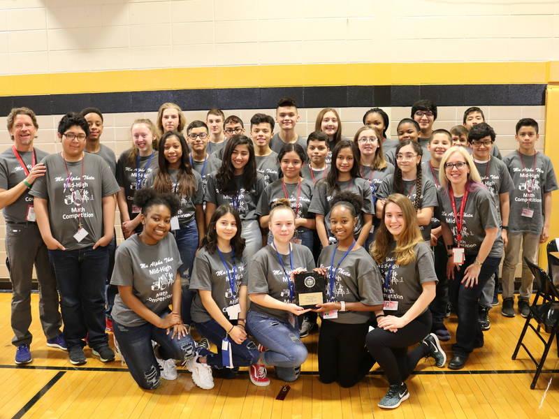 Washington Junior High Students Win Local Math Contest