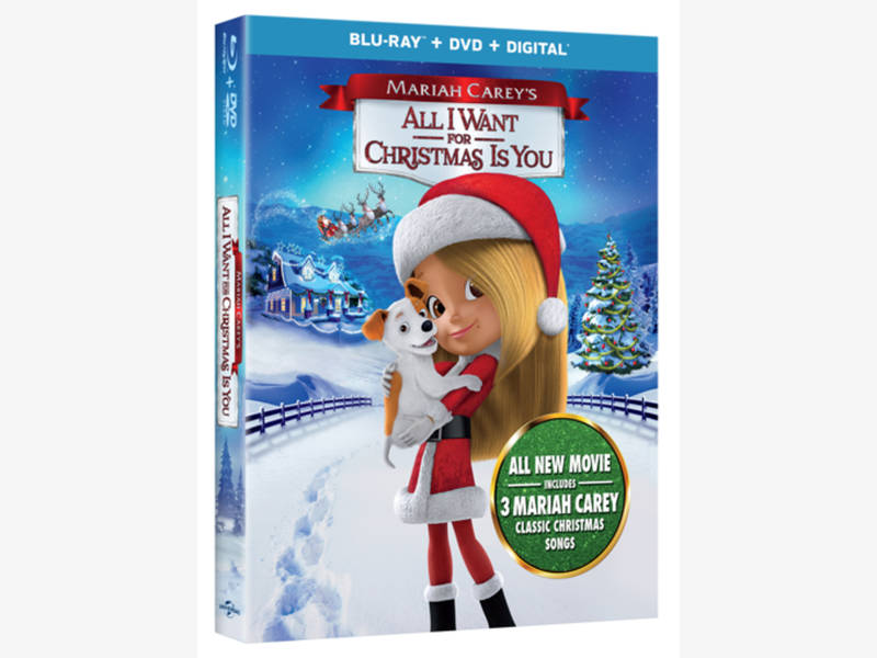 All I Want for Christmas (Mariah Carey\'s kid and family flick ...