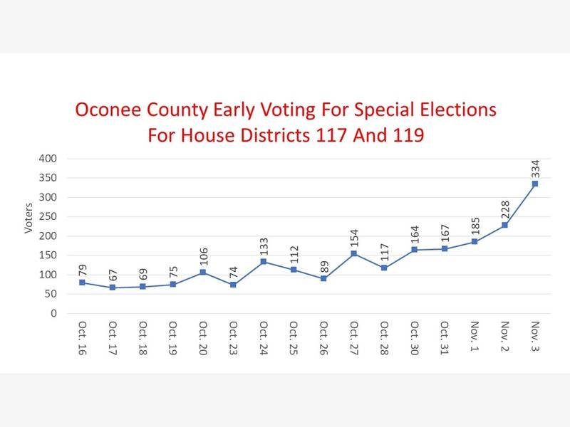 Early Voting Ends With Fewer Than 5,000 Casting Ballots | Oconee, GA Patch