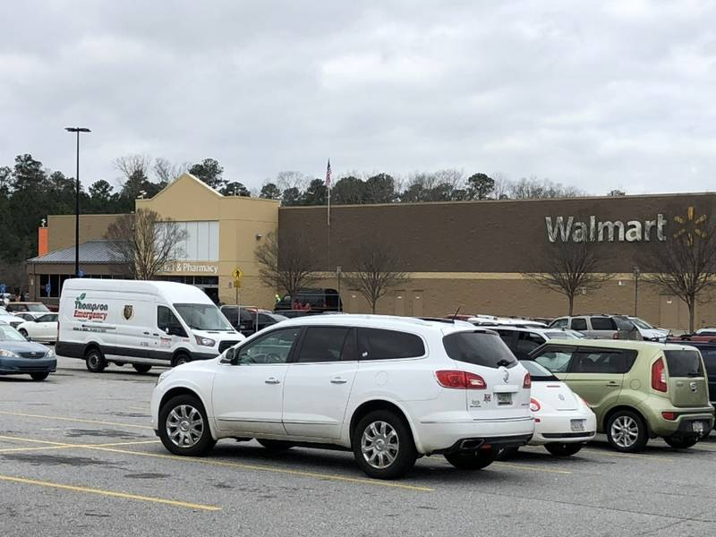 oconee issues building permit for online grocery at walmart