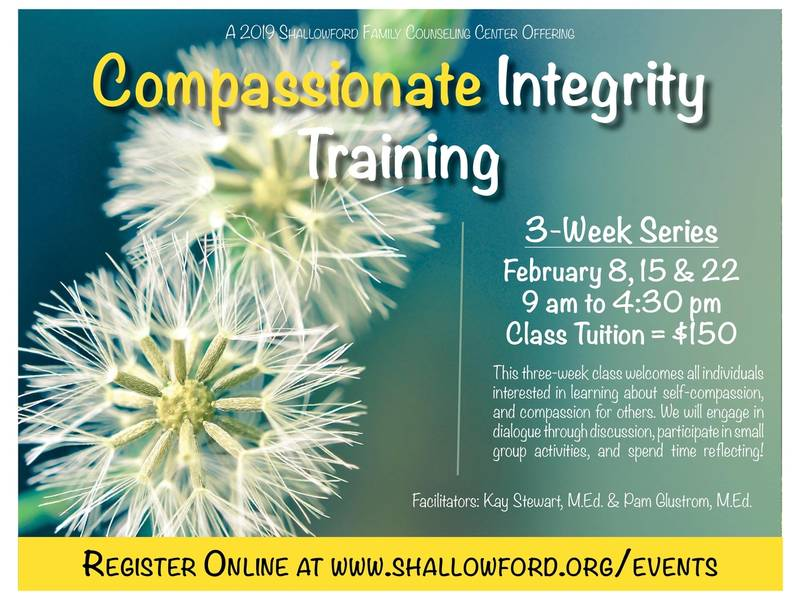 Shallowford Pres. Hosts Compassionate Integrity Training Class