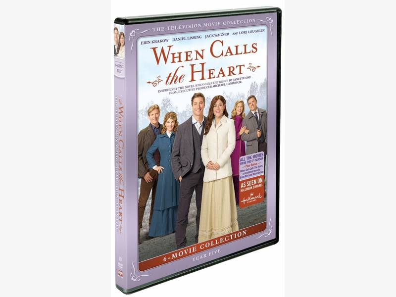 When Calls The Heart Year Five Brings Their Movies To Dvd
