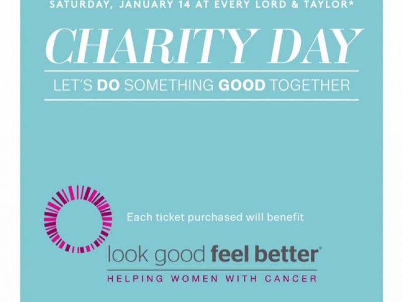 Lord Taylor Garden City Participating In First Charity Day Of 2017 Benefiting Look Good Feel