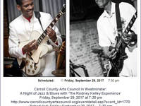 'The Rodney Kelley Experience' Friday, September 29, 2017 at 7:30 pm