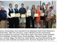 Maryland Troopers Association Lodge #20 awards education scholarships
