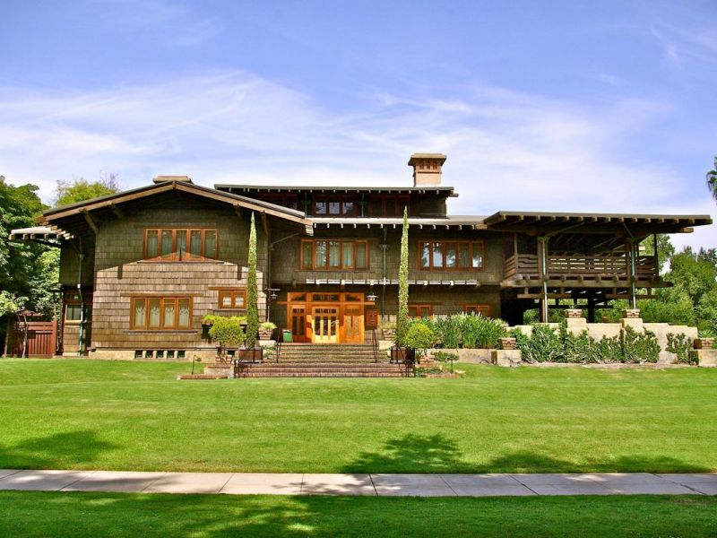 The Gamble House In Pasadena Celebrates 50 Years As Museum