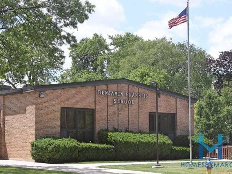 Franklin Elementary School Park Ridge Illinois April