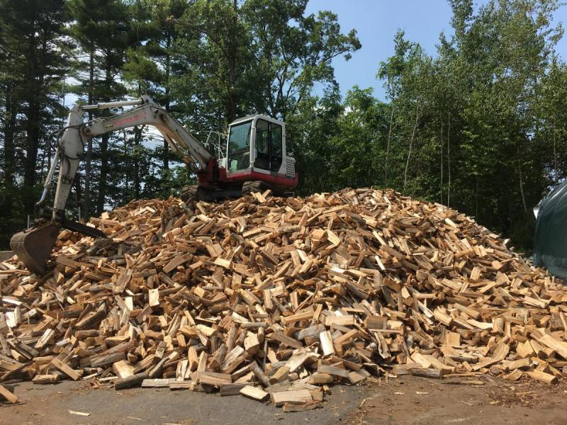 Seasoned Firewood Cord Wood 325 A Cord Exeter Nh Patch