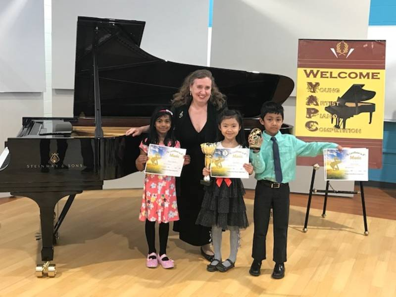 Prizes for music students