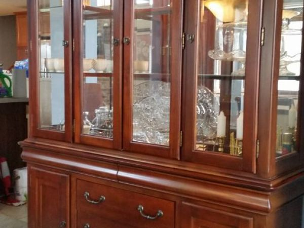 ... Dining Room Set With China Cabinet For Sale New Lenox ...