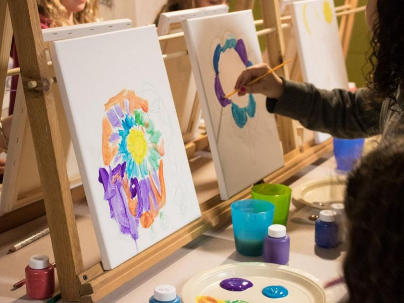 Mobile Painting Parties for Kids! Call Today: 224-281-2570 | Oak ...