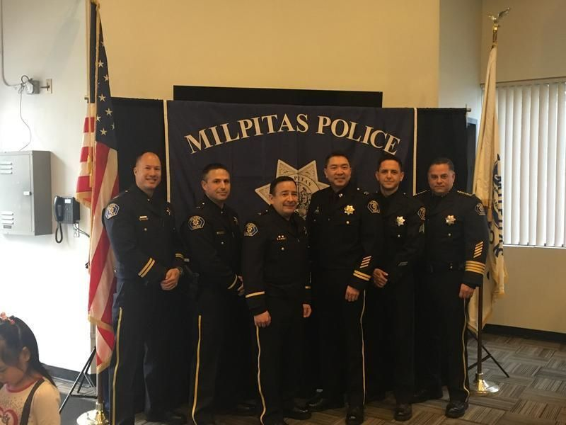 East Palo Alto Ca >> Milpitas Police Hold Promotion Ceremony | Milpitas, CA Patch