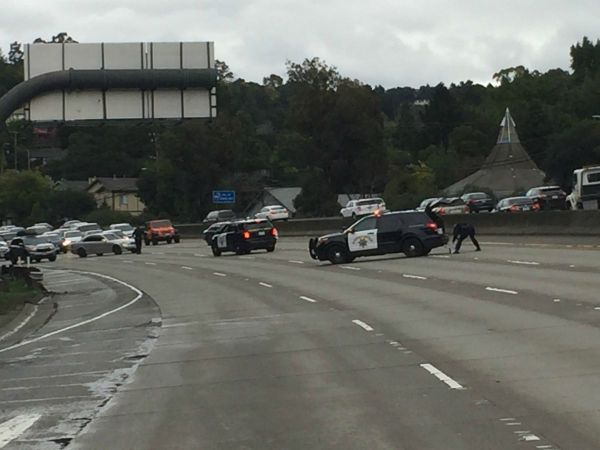 Oakland Active Shooter Man Armed With Rifle Detained Interstate Reopens