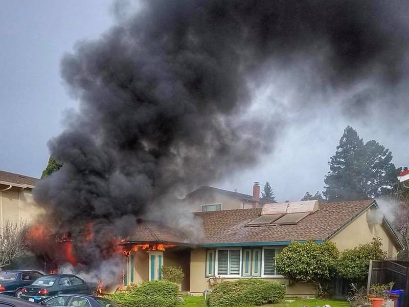 One Injured In Fire As Pinole Home Heavily Damaged Photos