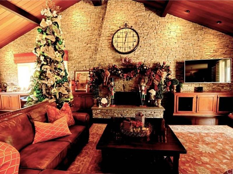 Homes For Roasting Chestnuts Or Burning A Yule Log