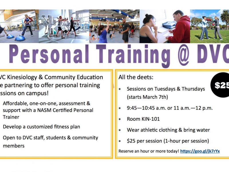 Affordable Personal Training Sessions Available At Diablo Valley
