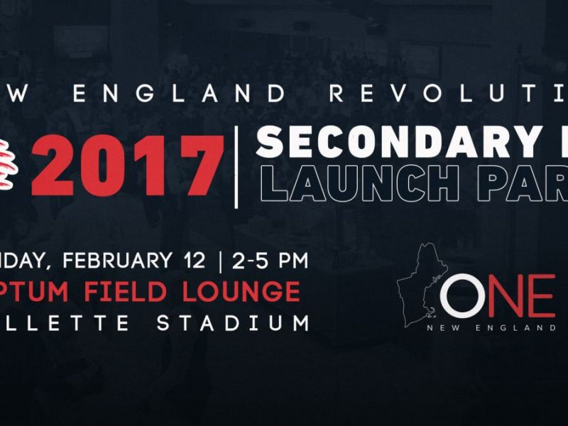 new product 9f2fc 2000d New England Revolution Unveil 2017 Secondary Kit and Invite ...