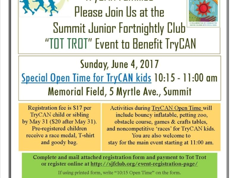 trycan special needs youth events and programs are set for this