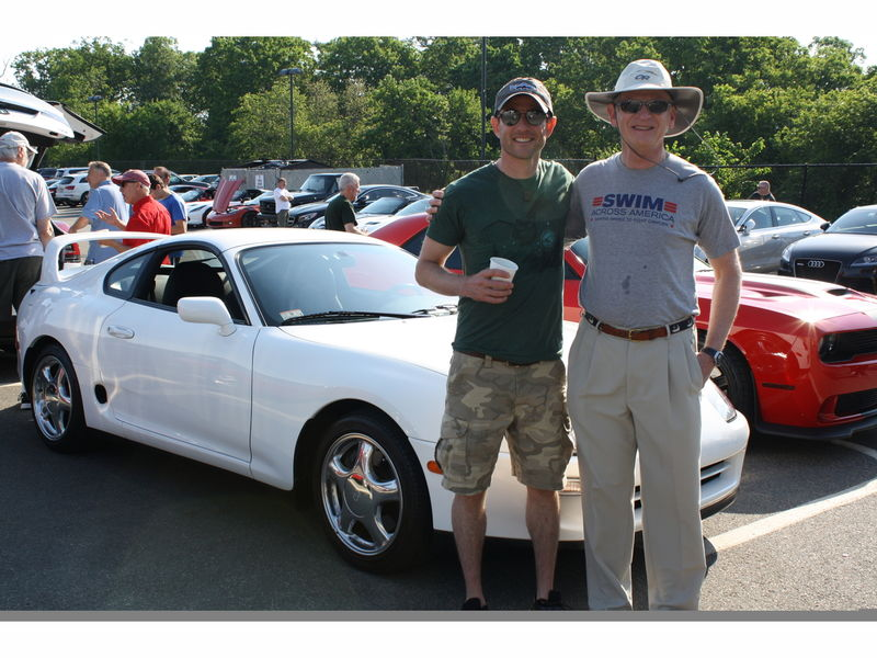 Marblehead resident shows off 1997 Toyota Supra Turbo at \