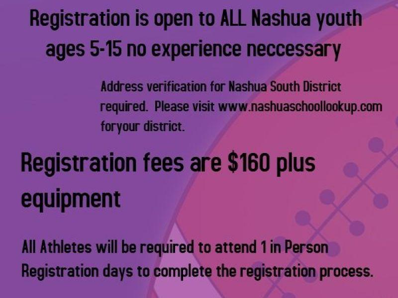 Nashua Crusaders Football and Spirit Registration | Nashua