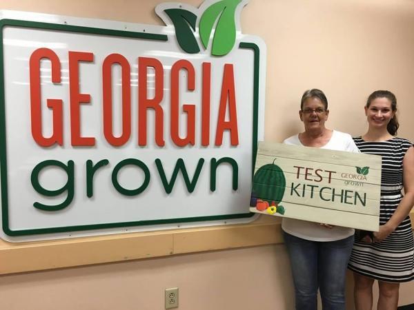 Test Kitchen Logo adairsville high school named site for georgia grown test kitchen