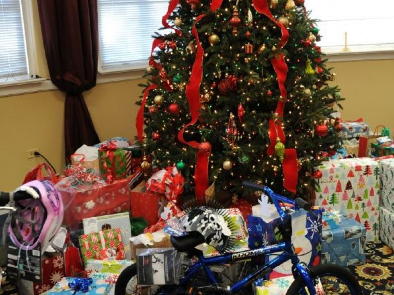 giving tree provides christmas gifts to less fortunate children canton ga patch