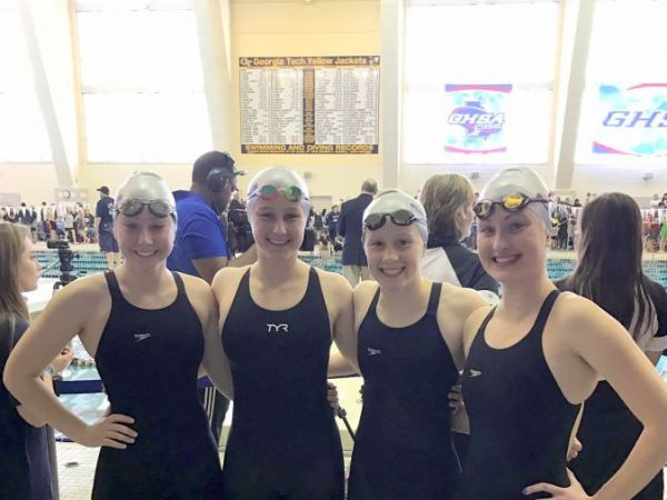 Centennial High School Swimmers Make Big Splash At State Meet Roswell Ga Patch