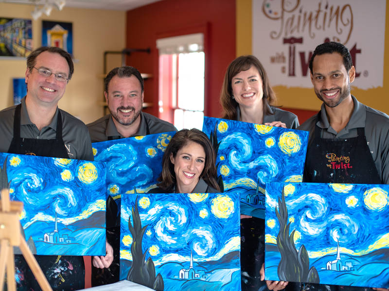 Painting With A Twist Opens In Alpharetta Alpharetta Ga Patch