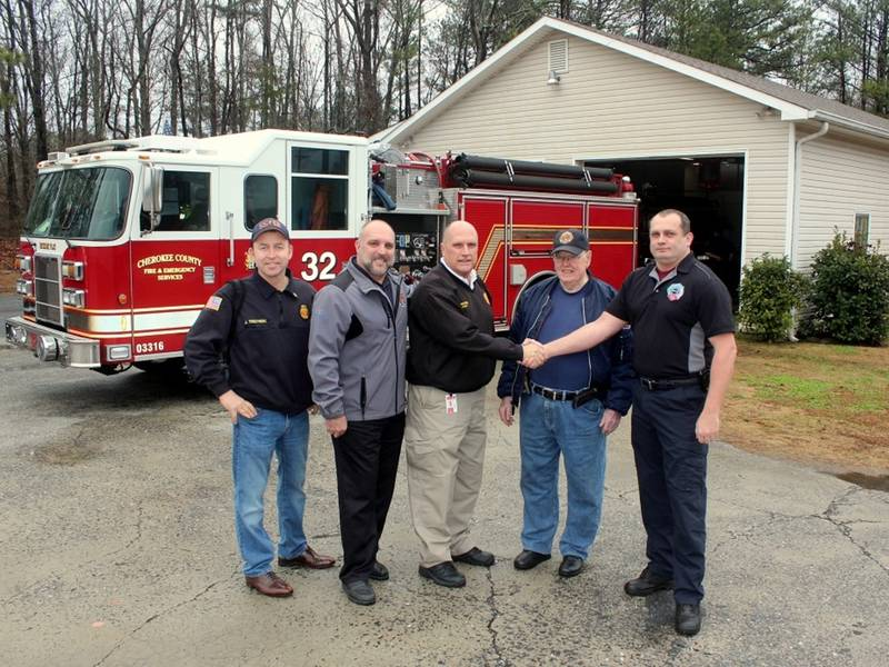 Volunteer Fire Department Transfers Station Ownership To County