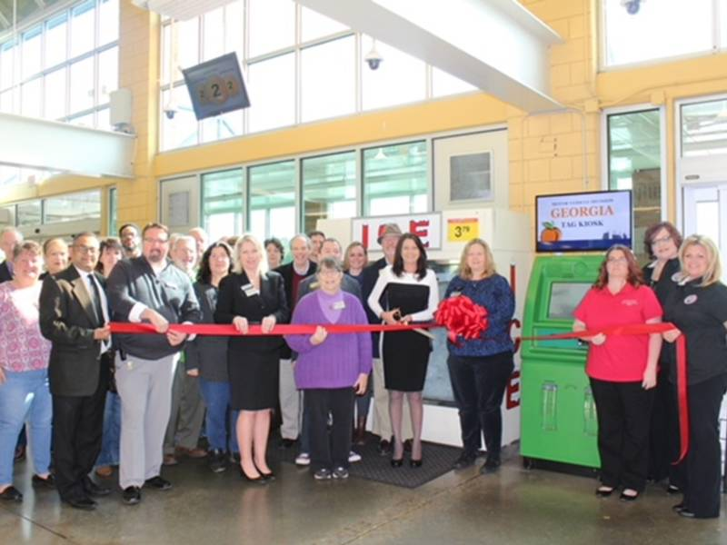 Tag Renewal Kiosks Come To Cherokee County Canton Ga Patch