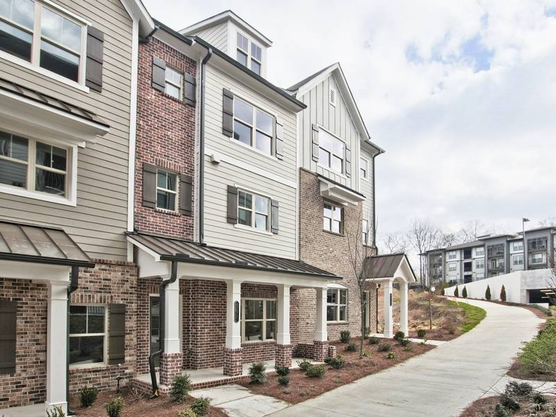 28 And Mill Brings New Townhomes To Downtown Woodstock