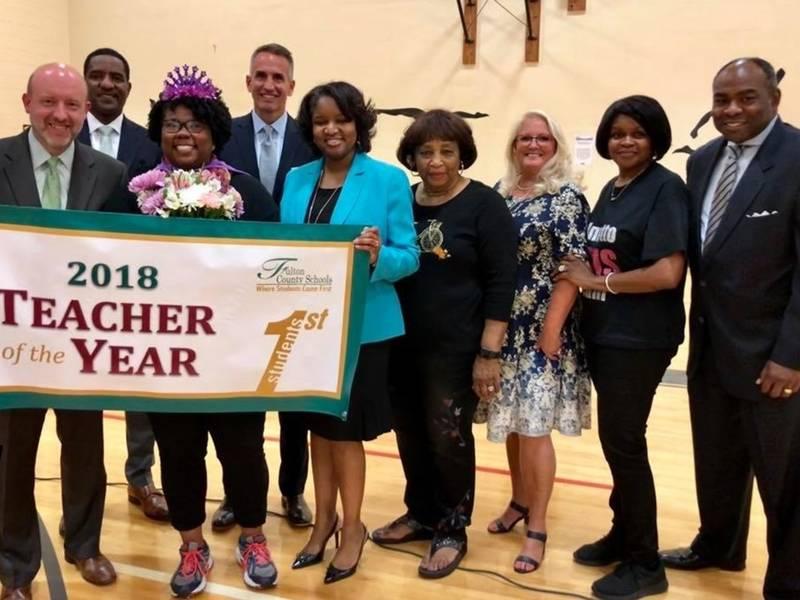 ... Fulton Schools Recognize Teacher, Principal Of The Year-0 ...