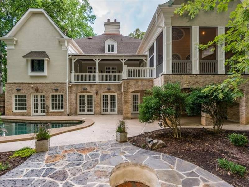 WOW House: $1.5M European Elegance With Wine Cellar, Pool | Sandy Springs, GA Patch