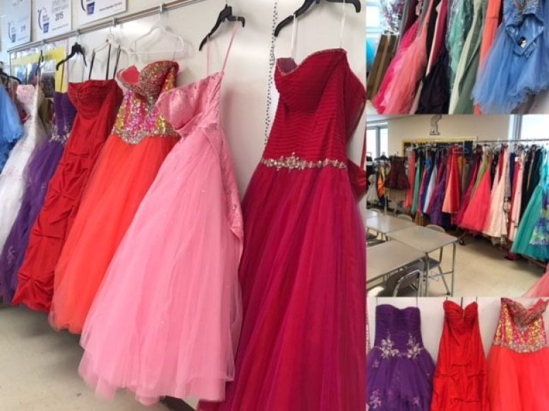 Joliet West students model dresses for upcoming sale   Channahon, IL ...