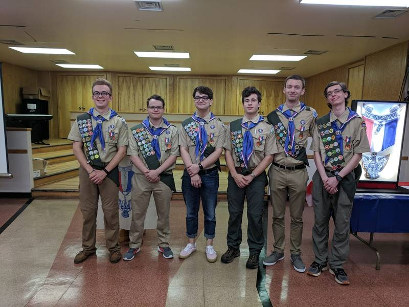 Arlington Boy Scout Troop 638 Holds Eagle Scout Court of Honor