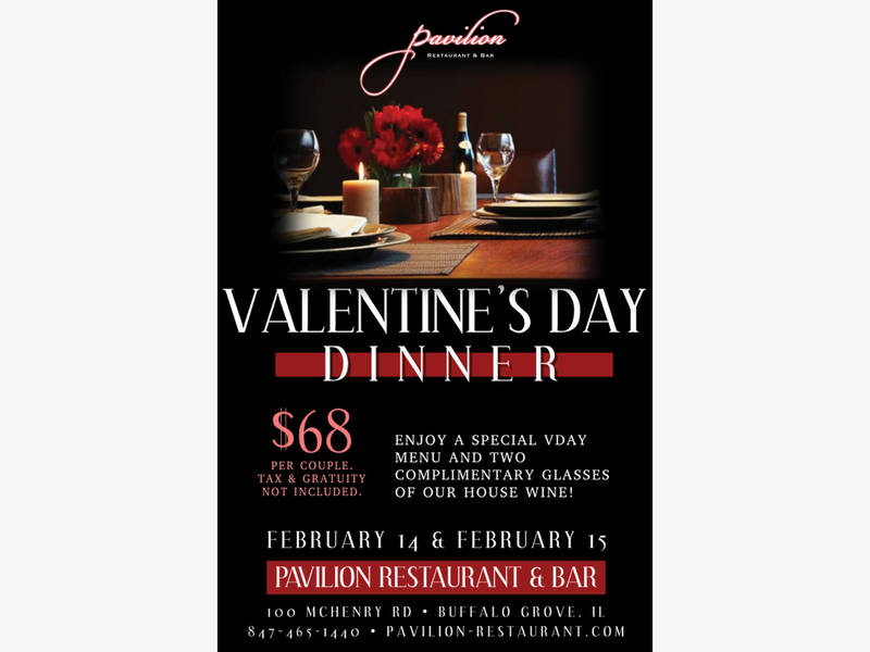 valentine u0026 39 s day dinner special for two