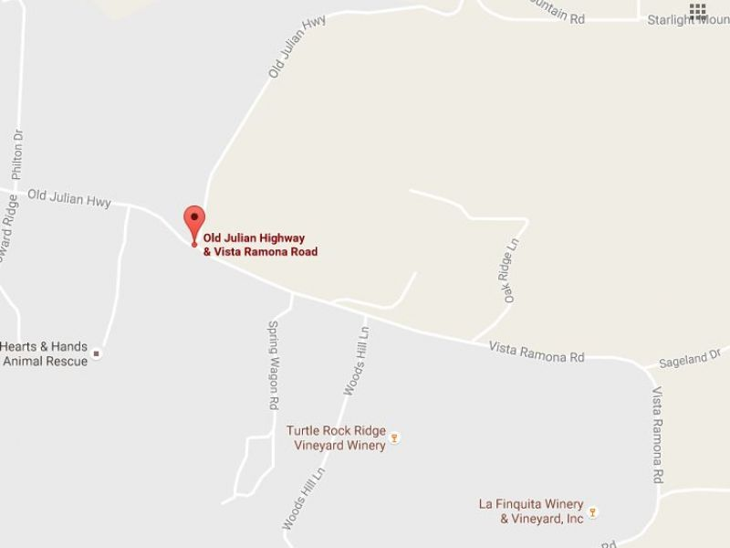 Father Suspected Of DUI In Ramona Crash That Left Woman Dead - California map ramona